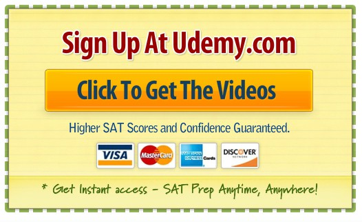 Order the Griffin SAT Prep Video Course on Udemy.com