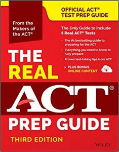 The Real ACT Prep Guide, 3rd Ed.