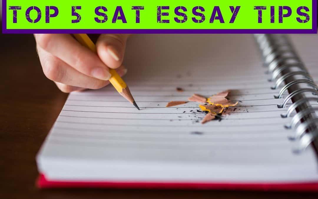 SAT Essay Tips