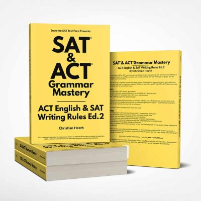 SAT & ACT Grammar Mastery Product Picture