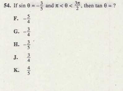 ACT Math: Simple Tricks for Tough ACT Trigonometry Problems