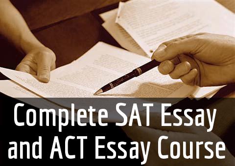 Sat essay online course