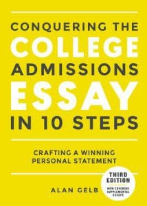 Best college admissions essay 10 steps ebook